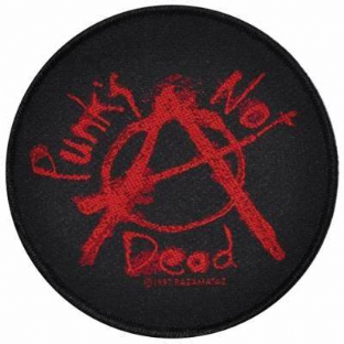 Punks Not Dead Patch